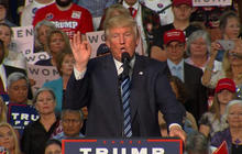 """Donald Trump: """"We cannot afford to lose our jobs"""""""