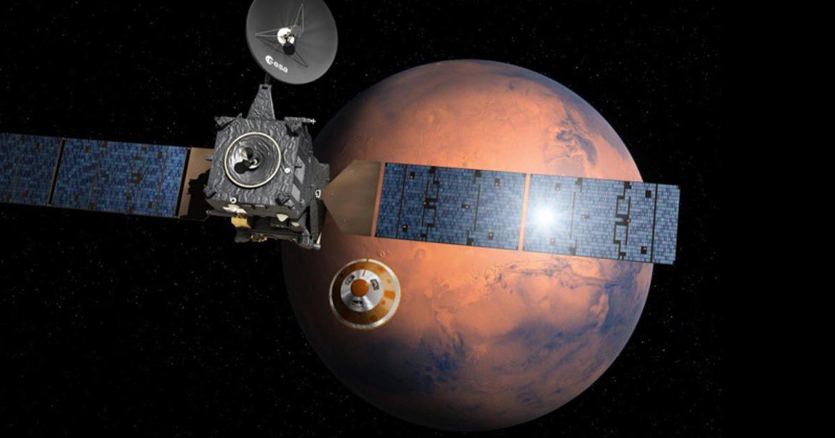 European ExoMars space probe makes nail-biting descent to ...