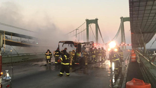 RV containing pot-laced candy catches fire on bridge