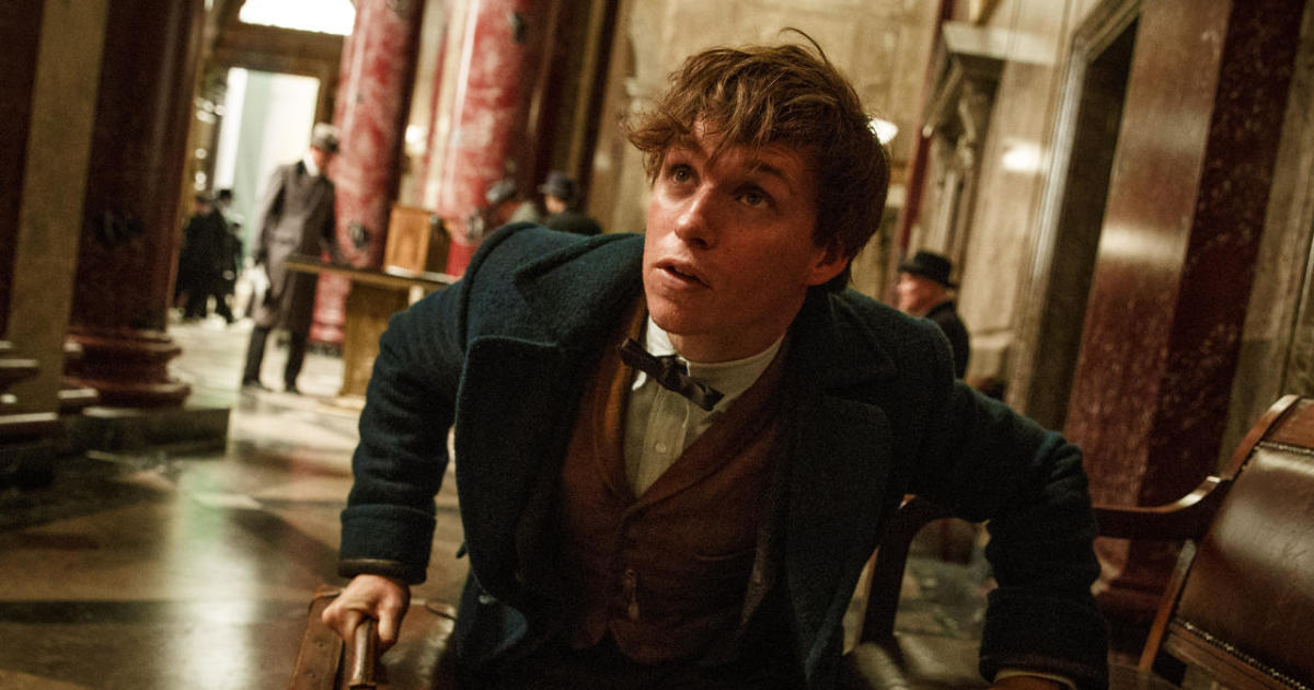 Extended interview: Eddie Redmayne, star of J.K. Rowling's ...