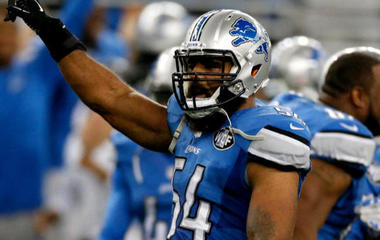 Detroit Lions linebacker donates $30,000 for untested rape kits