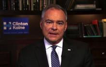 "Tim Kaine: ""Consider yourself the underdog until they call you the winner"""