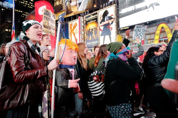 NYC-王牌 - 抗议,2-2016-11-9.jpg