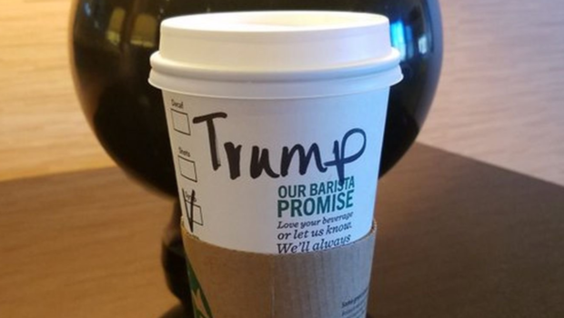 Trump supporters launch #TrumpCup as a protest against Starbucks