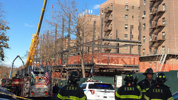 Beam Falls on Crane in Queens, Killing 2 Operators: FDNY