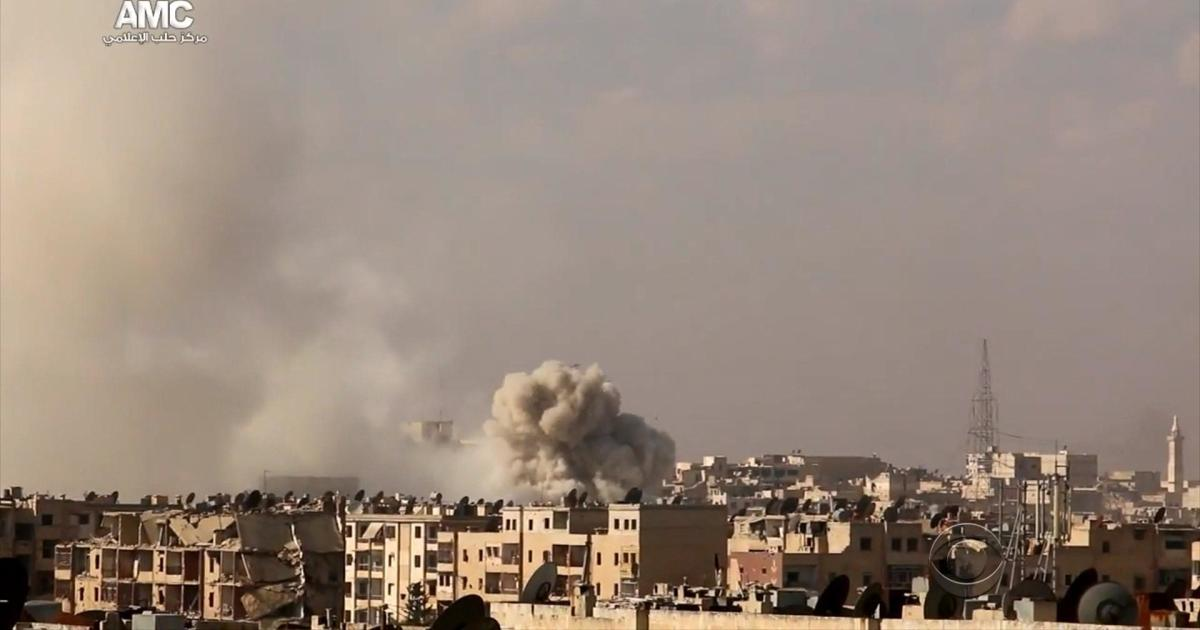 Relentless bombing pummels Syria's largest city - CBS News