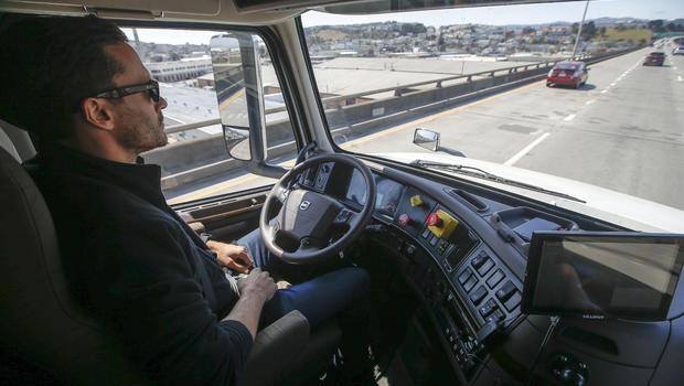 Image result for self driving trucks