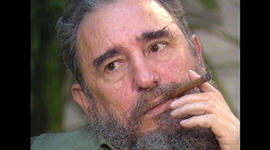 Castro on 60 Minutes in 1985