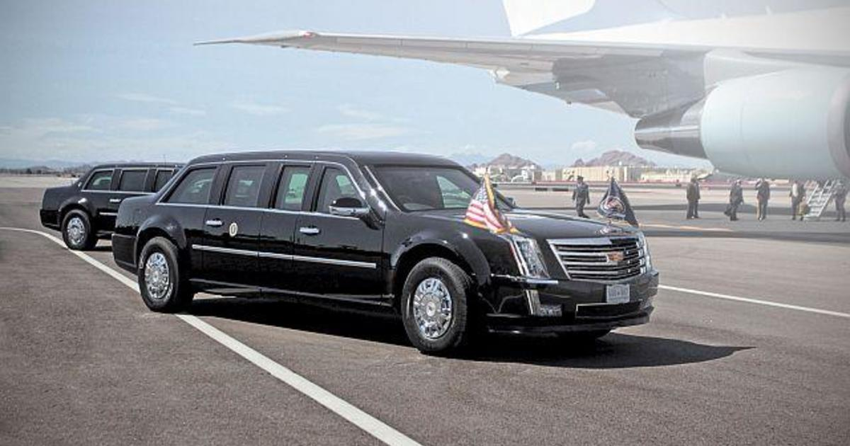 Cadillac Evening News >> Forget Air Force One -- here comes the new first limo - CBS News
