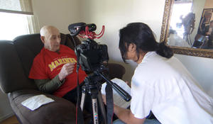 Why one young man made it his mission to interview WWII veterans
