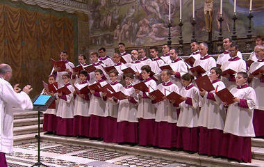 Pope's choir spreads message of harmony in music