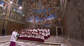 The sounds of the Sistine Chapel Choir