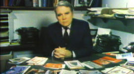 Andy Rooney's ode to Christmas cards