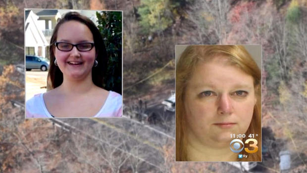 Stepmother arrested after daughter found dismembered after claiming she'd run away
