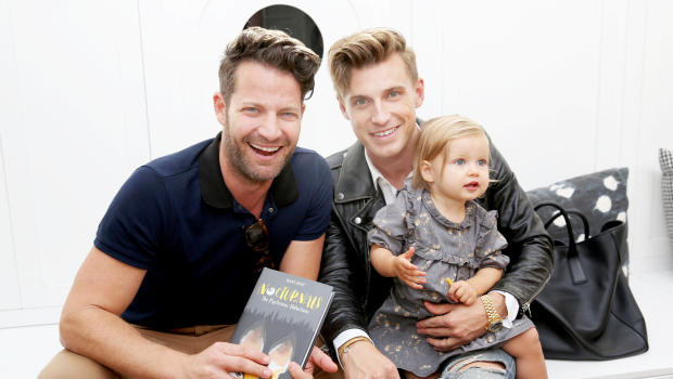 nate berkus talks about holiday plans with baby poppy and how he quit smoking cbs news. Black Bedroom Furniture Sets. Home Design Ideas