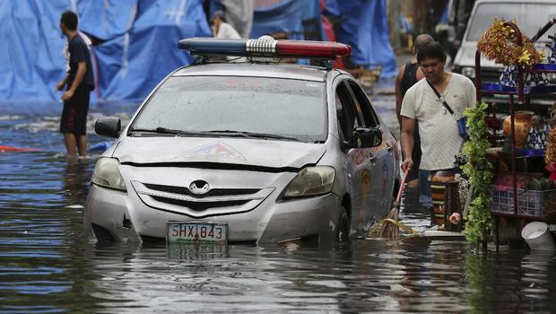 Typhoon Nock-ten intensifies as it approaches Philippines
