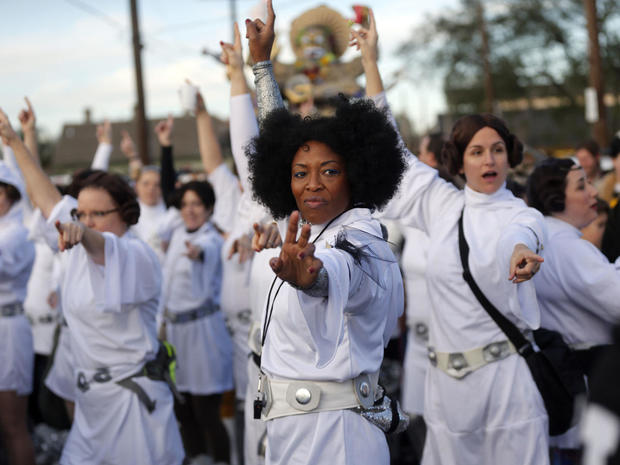 A New Orleans tribute to Princess Leia