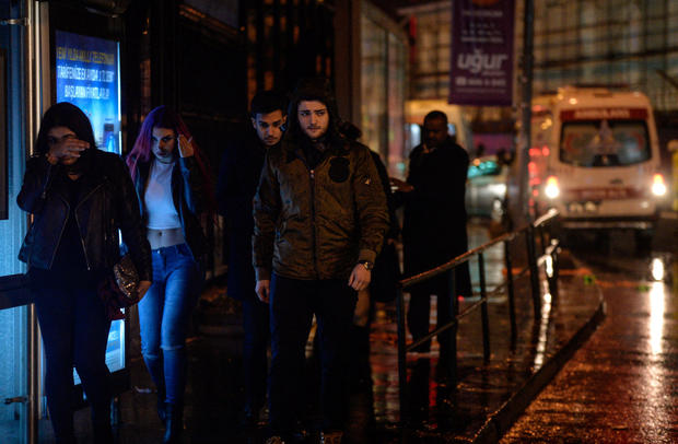Istanbul New Year's attack