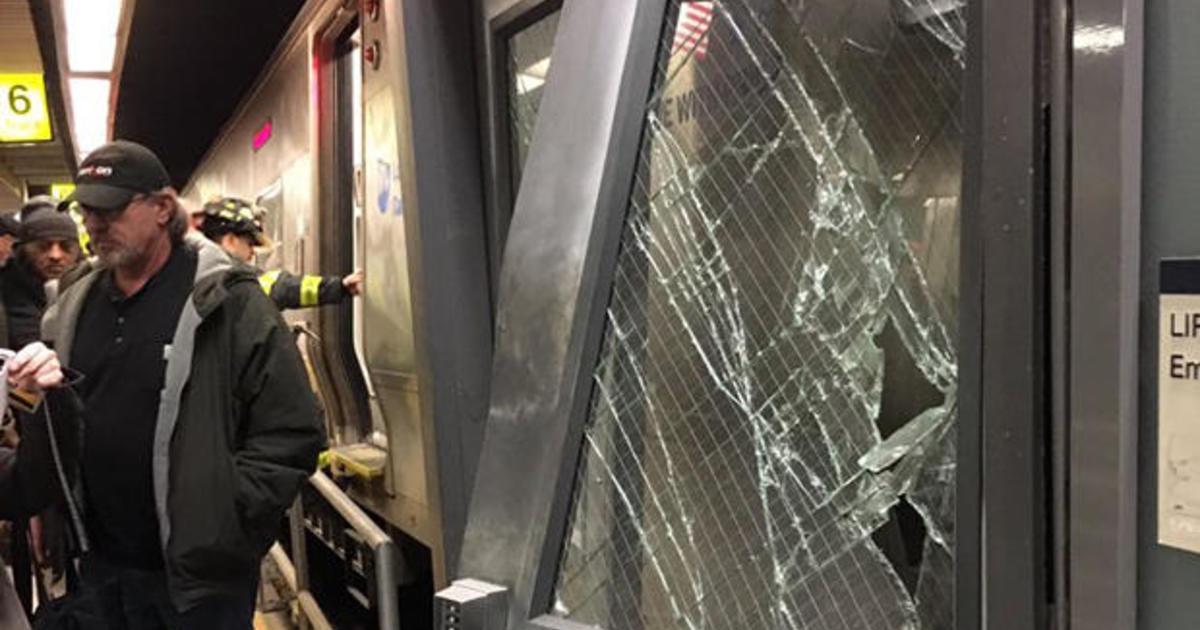 LIRR train crash in New York City injures dozens