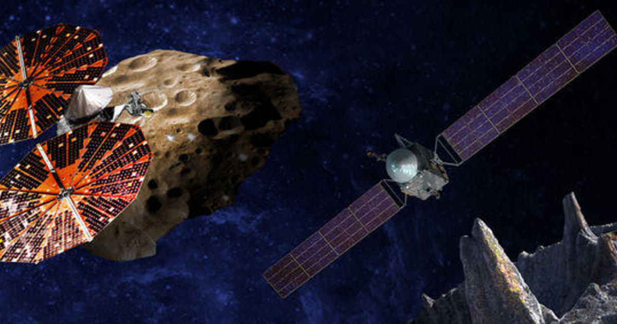 NASA asteroid missions aim to explore space oddities