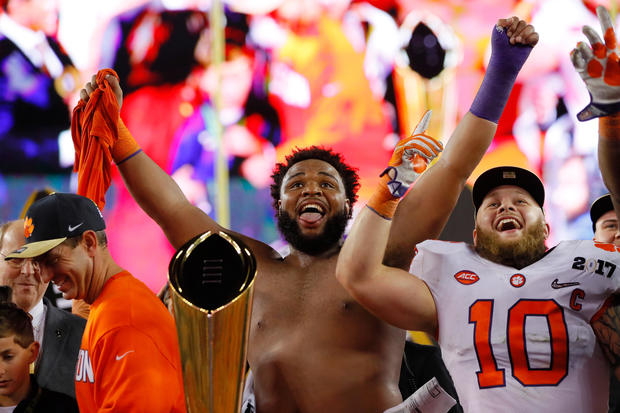 Clemson Tigers win the 2017 NCAA football championship