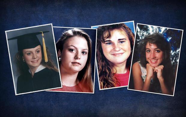L-R:Jennifer Harbison,Sara Harbison,Amy Ayers和Eliza Thomas