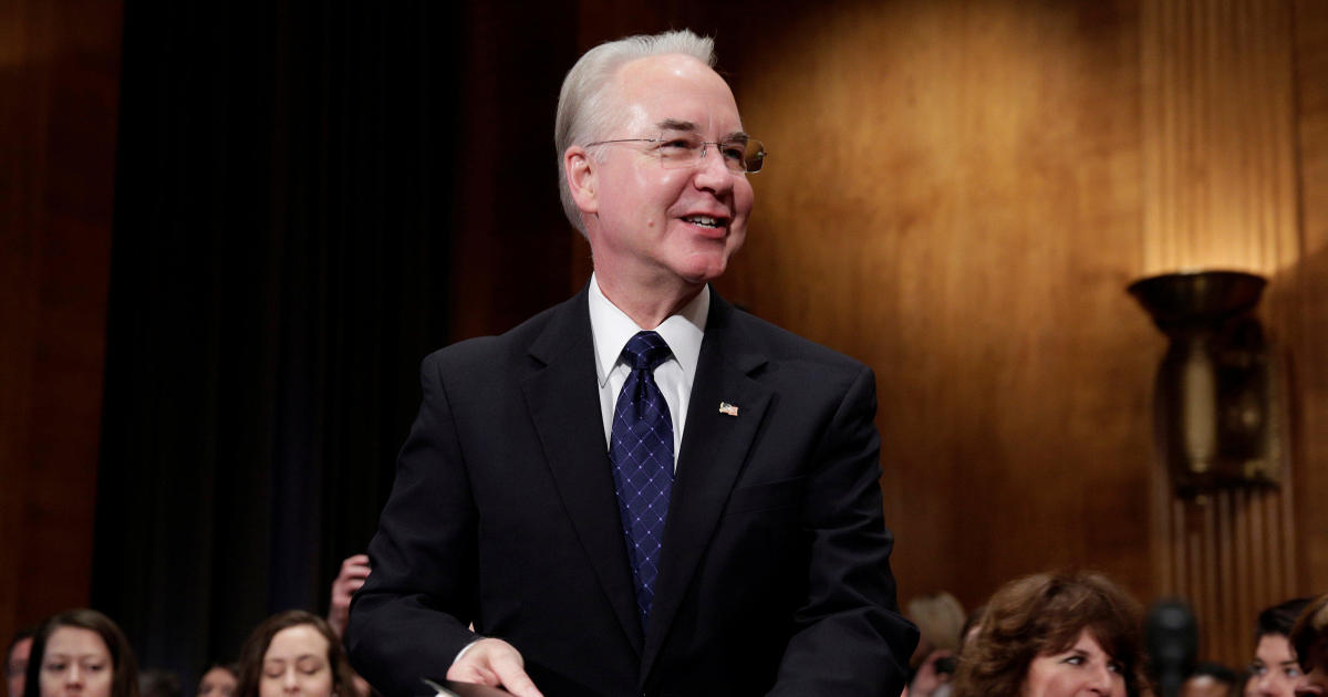 Trump HHS pick Tom Price faces Senate questioning on Obamacare, stock buys