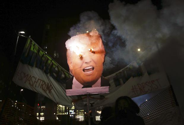 Trump inauguration protests