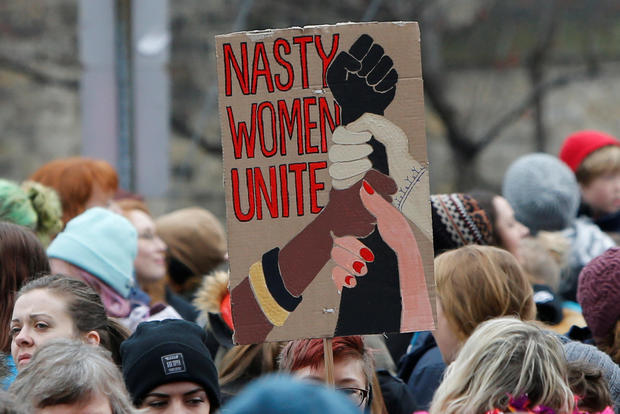 Best signs from women's marches around the world