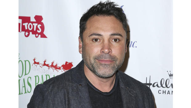 Hall of Fame Boxer Oscar De La Hoya Arrested in Pasadena