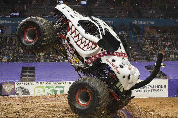 Inside monster truck rallies