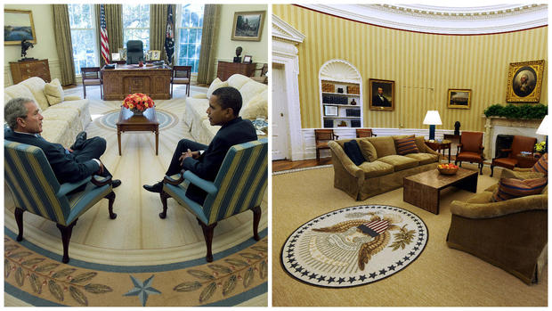 How Trump has changed the Oval Office so far CBS News