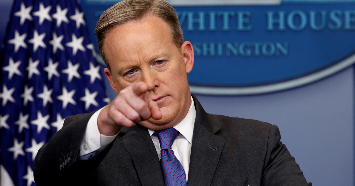 Sean Spicer press conference live updates - CBS News