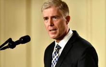 White House says Gorsuch has received widespread support