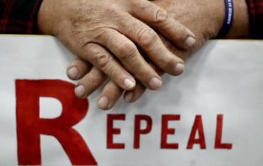 "GOP revise Obamacare slogan to ""repair"""