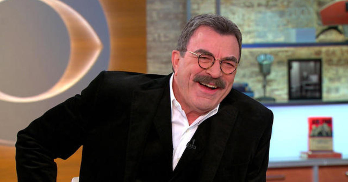 tom selleck on blue bloods iconic career videos cbs news. Black Bedroom Furniture Sets. Home Design Ideas