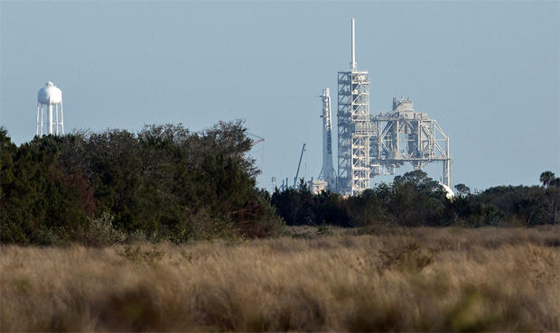 NASA Launch Pad 39A Reignites in Preparation for SpaceX Launch