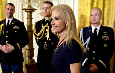 Kellyanne Conway under fire for plugging Ivanka Trump brand