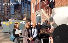 Protesters block DeVos from entering D.C. public school