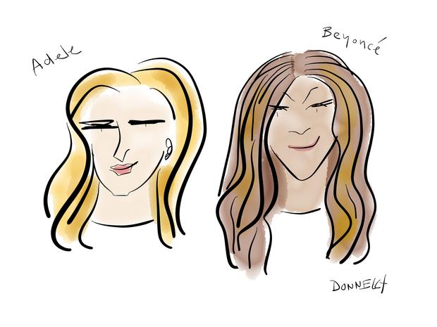 Grammy Awards 2017 in illustrations