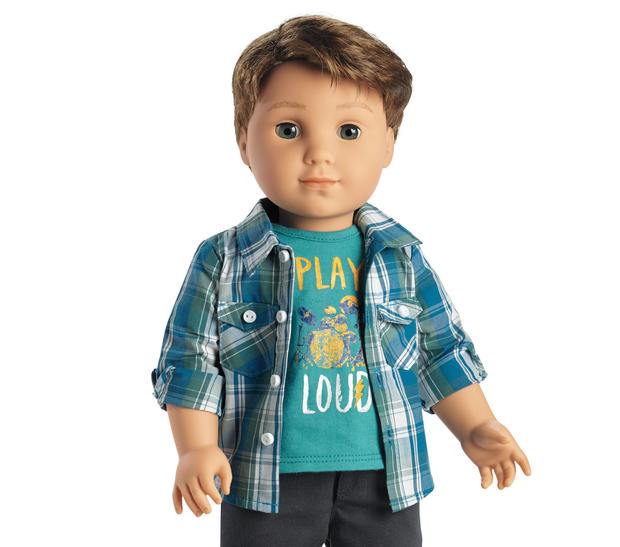 American Girl To Release Its First Boy Doll Cbs News