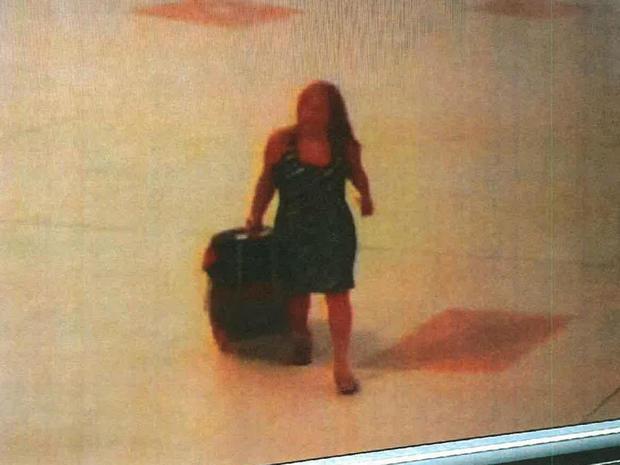 特蕾莎修女在机场