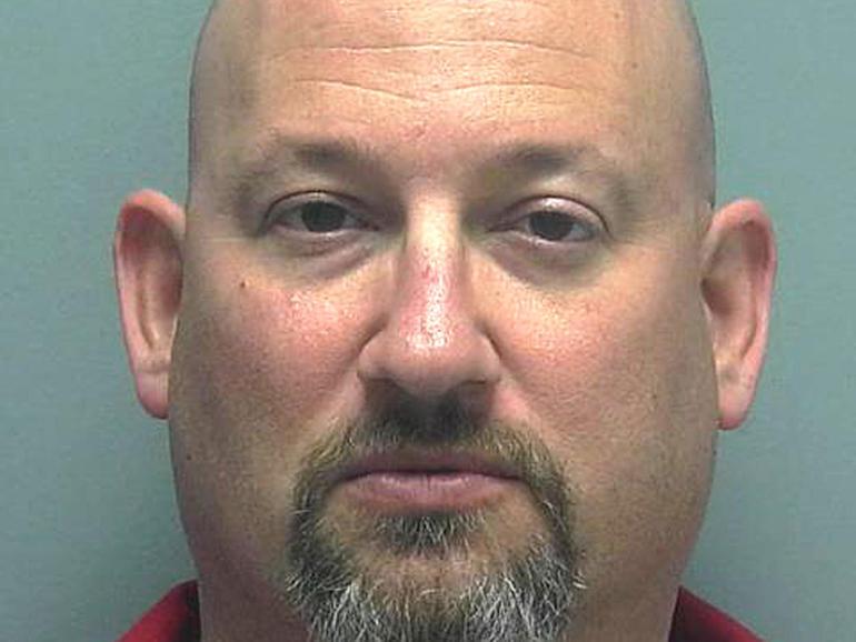 Mark Sievers arrest photo