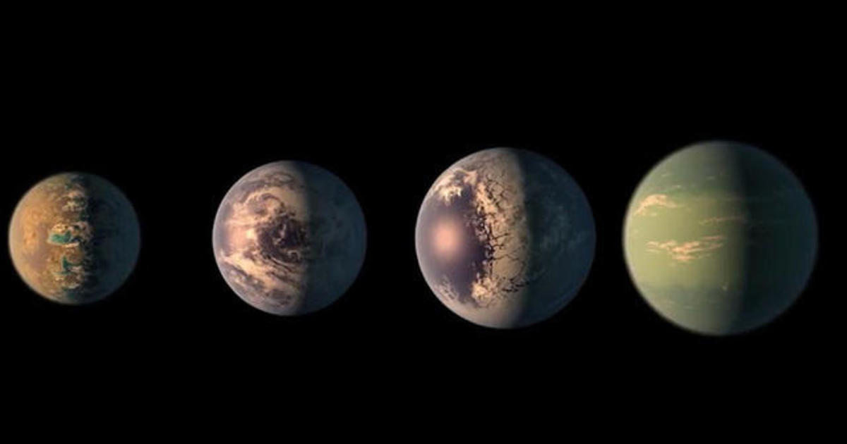 NASA discovers seven Earth-sized planets - Videos - CBS News