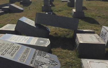 Jewish cemetery vandalized in Philadelphia
