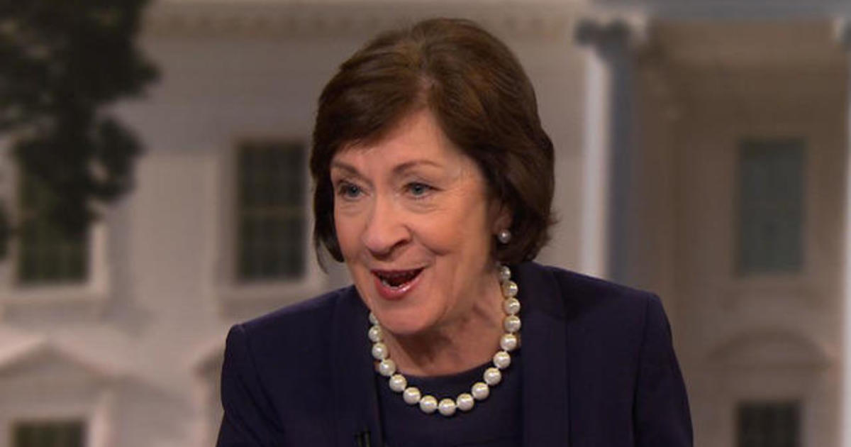 Sen Susan Collins On Healthcare Reform Status There Is