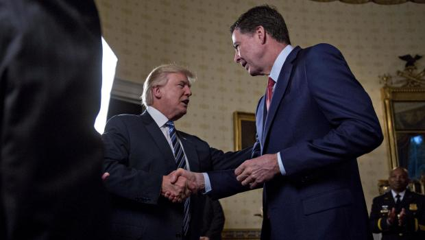 Trump threatens Comey in Twitter outburst