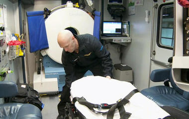 Stroke ambulances dramatically cut treatment time