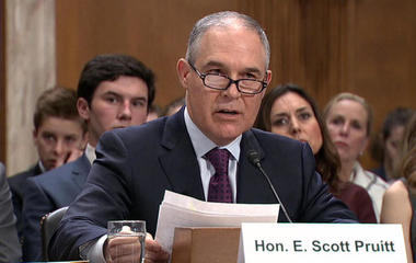 EPA director downplays CO2 role in global warming