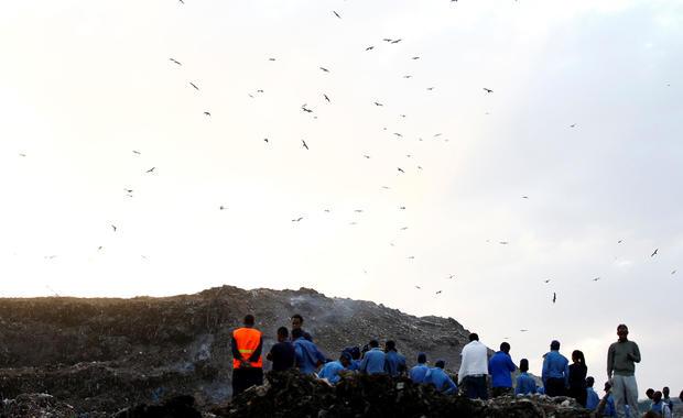 Deadly Ethiopia garbage dump collapse